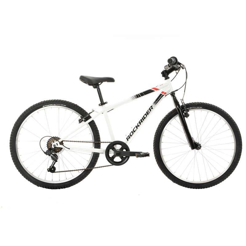 Детские МТВ велосипеды 6-12 лет Велоспорт - ВЕЛОСИПЕД ST 100 RR 24