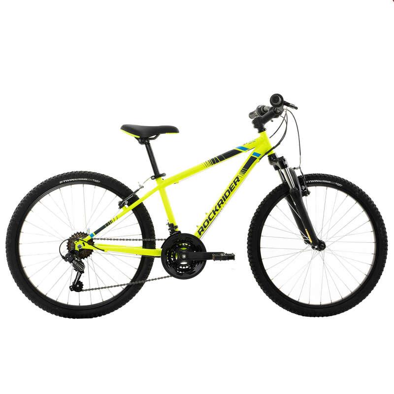 Детские МТВ велосипеды 6-12 лет Велоспорт - ВЕЛОСИПЕД ST 500 RR 24