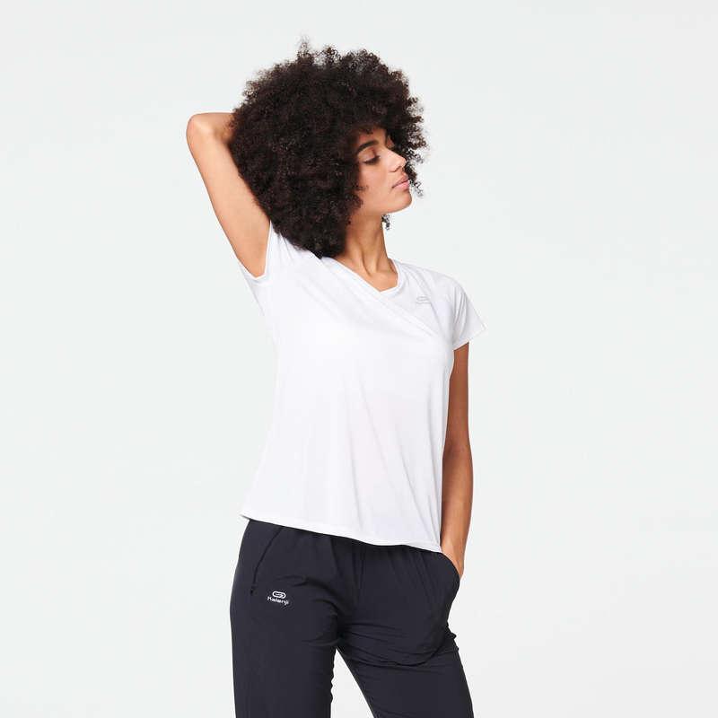 OCCAS WOMAN JOG WARM/MILD WHTR CLOTHES Clothing - RUN DRY T-SHIRT KALENJI - Tops