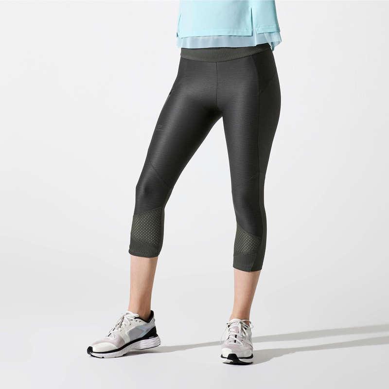 ABBIGLIAMENTO TRASPIRANTE DONNA Running, Trail, Atletica - Corsari donna RUN DRY+ FEEL KALENJI - Abbigliamento Running