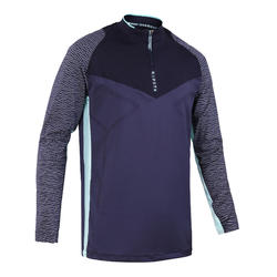 Training top voetbal CLR donkerblauw