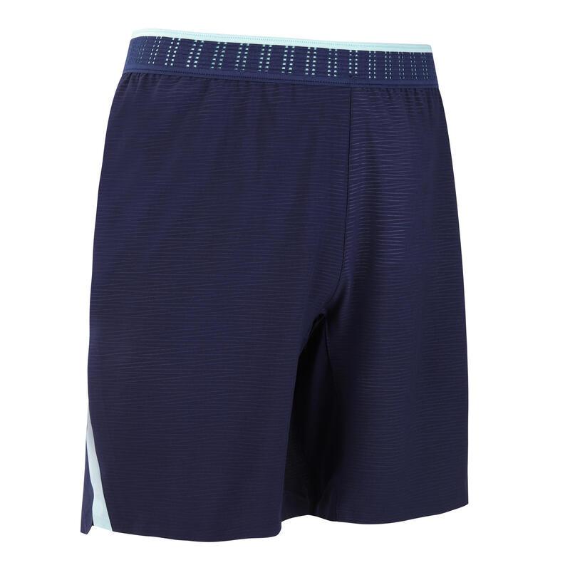 Short de football adulte CLR bleu foncé