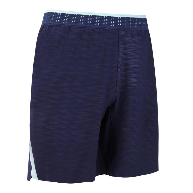 SOUPRAVY NA TRÉNINKY/ZÁPASY ZA TEPLÉHO POČASÍ Futsal - KRAŤASY CLR TMAVĚ MODRÉ KIPSTA - Oblečení na futsal