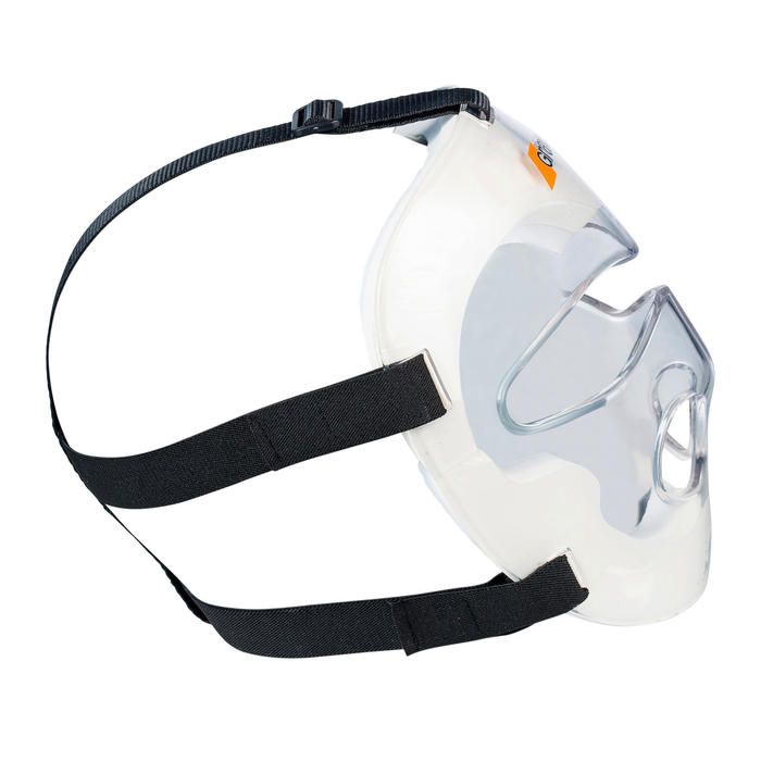 Masque de hockey sur gazon PC adulte toutes intensités Grays transparent