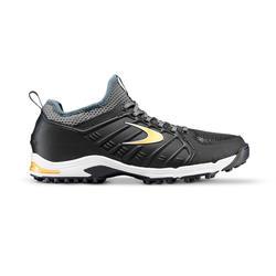 Hockeyschoenen voor volwassenen gemiddeld tot hoog intensief STBL 550 zwart/goud