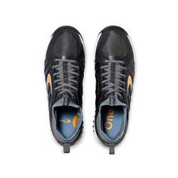 Chaussures de hockey adulte intensité moyenne à forte STBL 550 noir doré