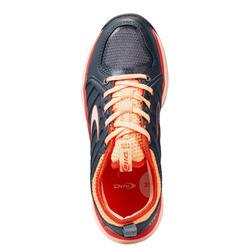 Chaussures de hockey adolescent intensité moyenne STBL150 noir rose