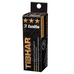 BALLE DE TENNIS DE TABLE TIBHAR 3* ORANGE X3