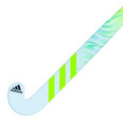 Stick de hockey ado fibre de verre mid bow FLX24 Compo 6 bleu clair vert