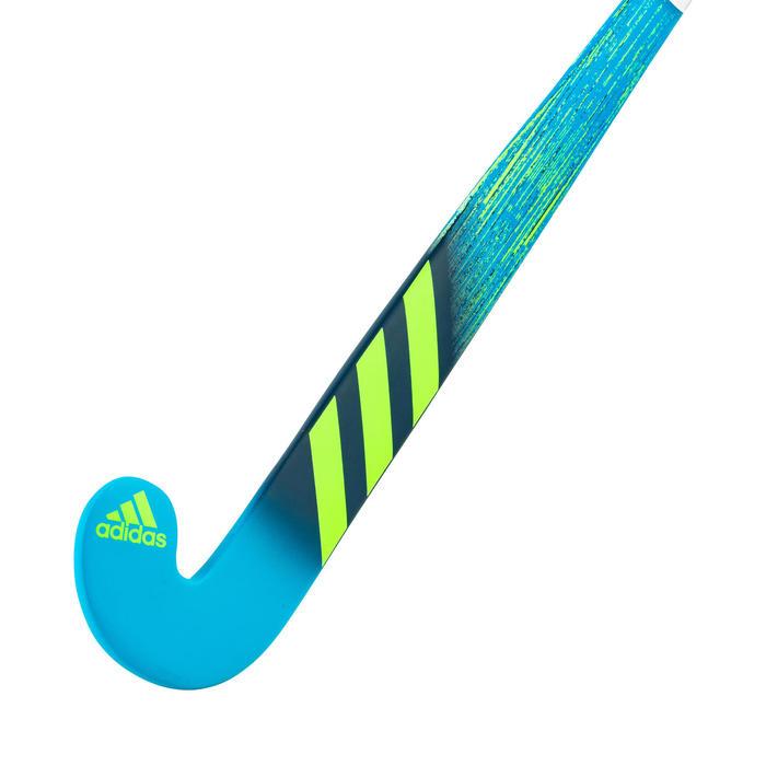 Hockeystick voor kinderen hout K17 King blauw/groen