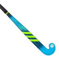 Stick de hockey sur gazon enfant bois K17 King bleu vert