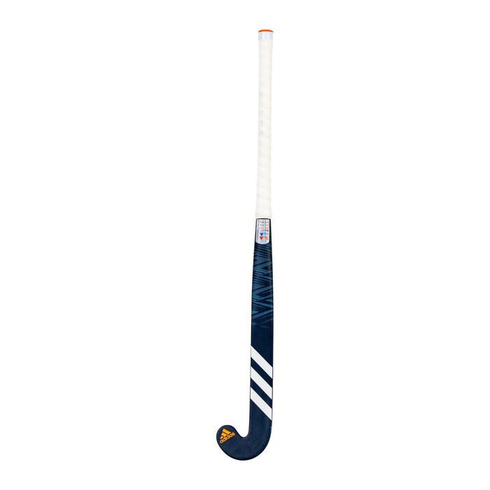 Stick de hockey/gazon adulte confirmé mid bow 50%carbone LX24Compo2 marine blanc