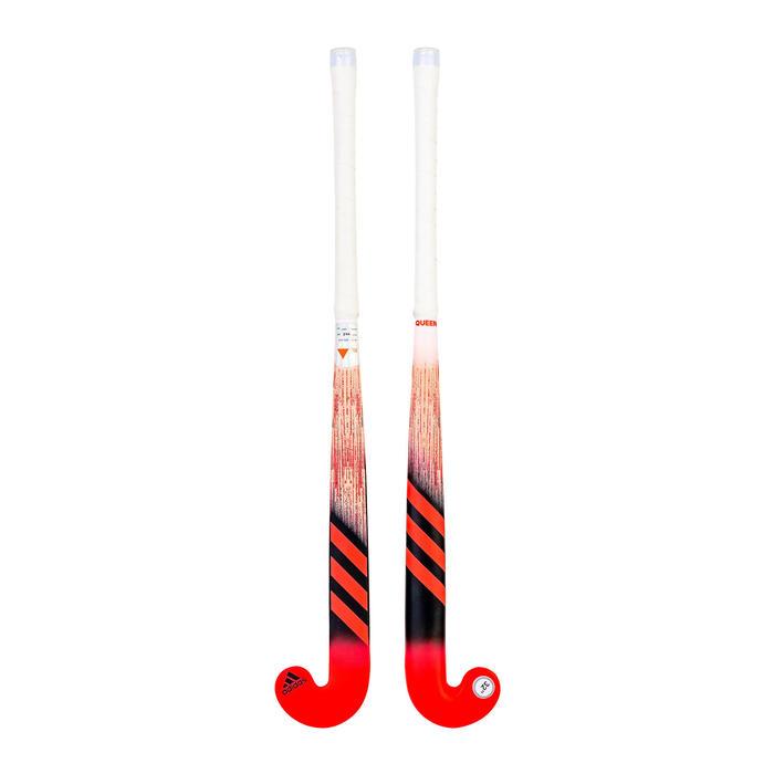 Stick de hockey sur gazon enfant bois K17 Queen rose noir