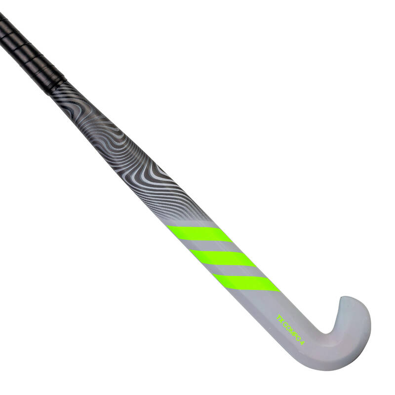 HOKEJKY Pozemní hokej - HOKEJKA TX24CPO4 C30 LB ŠEDÁ ADIDAS - Hokejky, míčky, gripy a tašky