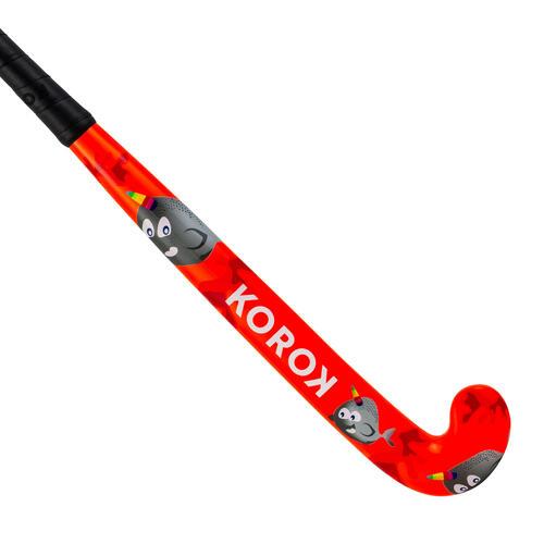 Stick de hockey sur gazon enfant bois FH100 Narval