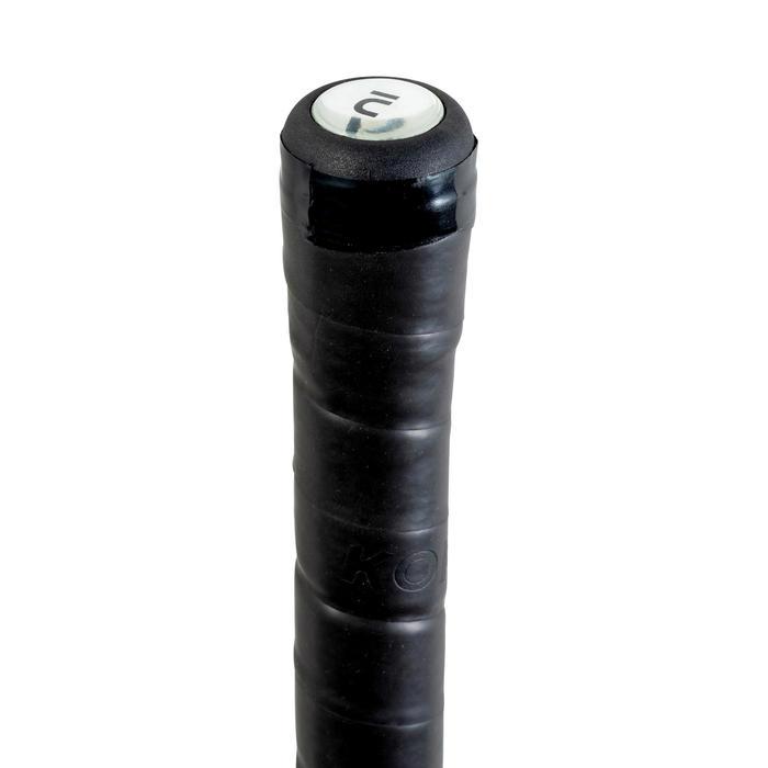 Stick de hockey/gazon adulte débutant fibre de verre standard bow FH150 rouge