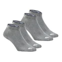兩雙入中筒襪NH100-灰色