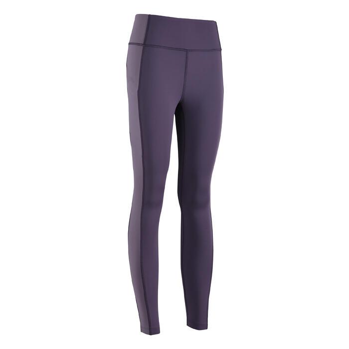 女款緊身褲-紫色