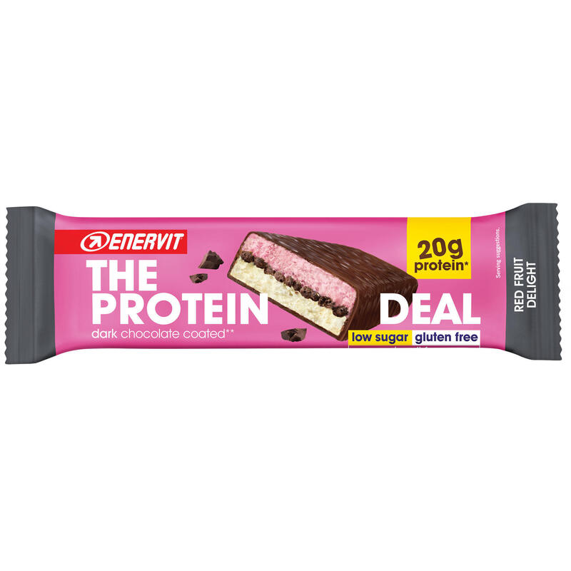 BARRETTA PROTEICA THE PROTEIN DEAL RED FRUITS DELIGHT GLUTEN FREE 55 G