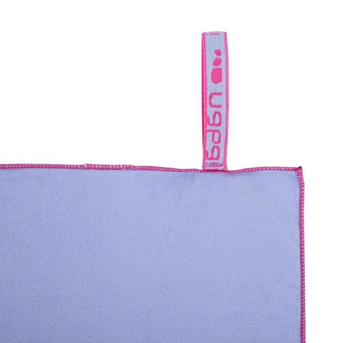 極輕便微纖維毛巾S號42 x 55 cm 淺紫色