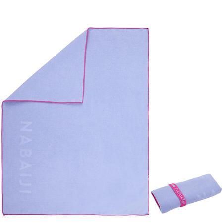 Swimming Microfibre Towel Size S 42 x 55 cm - Light Purple