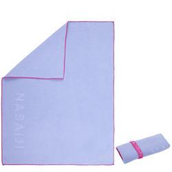 Ultra-Compact Microfibre Towel Size S 42 x 55 cm Light Purple