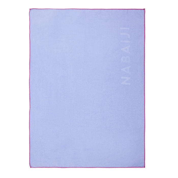 Ultra-Compact Microfibre Towel Size S 42 x 55 cm Light Purple