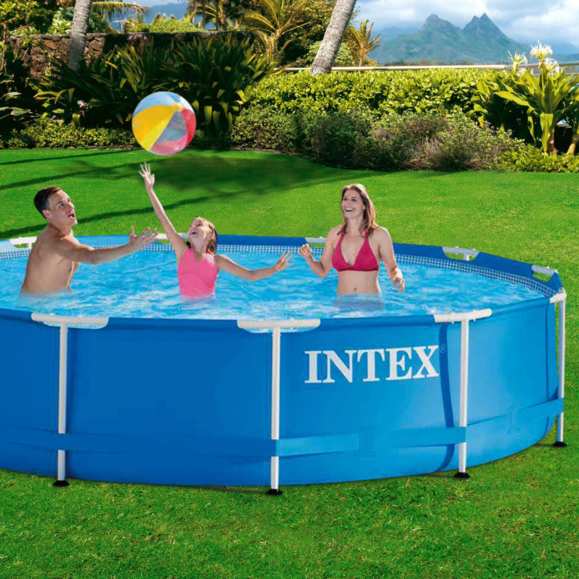 Intex Grande Piscine Tubulaire Intex 366x76 Decathlon