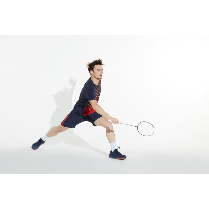 成人款極致輕盈羽毛球拍BR 900 P-銀色