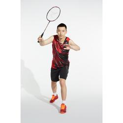 Raquette De Badminton Adulte BR 990 P - Noire/Rouge