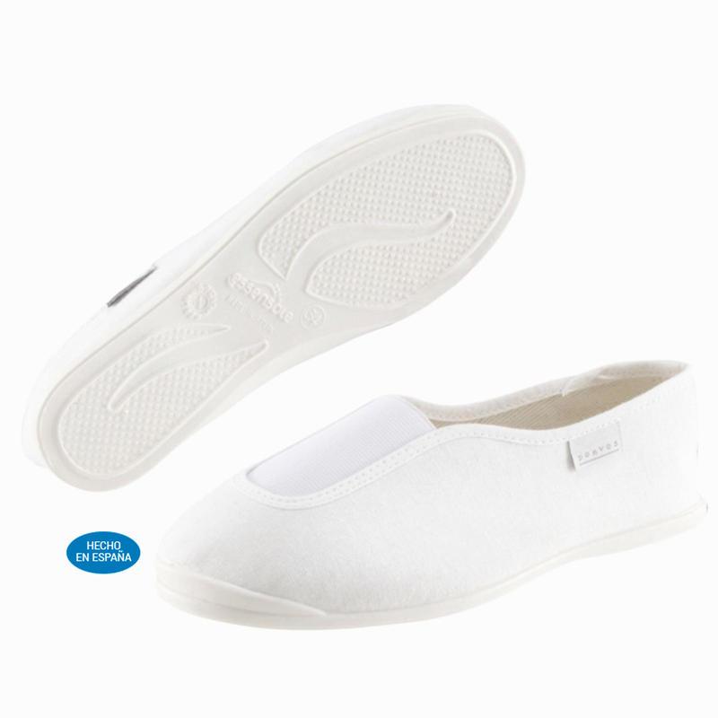 Rhythm 300 Kids' School Gym Shoes - White