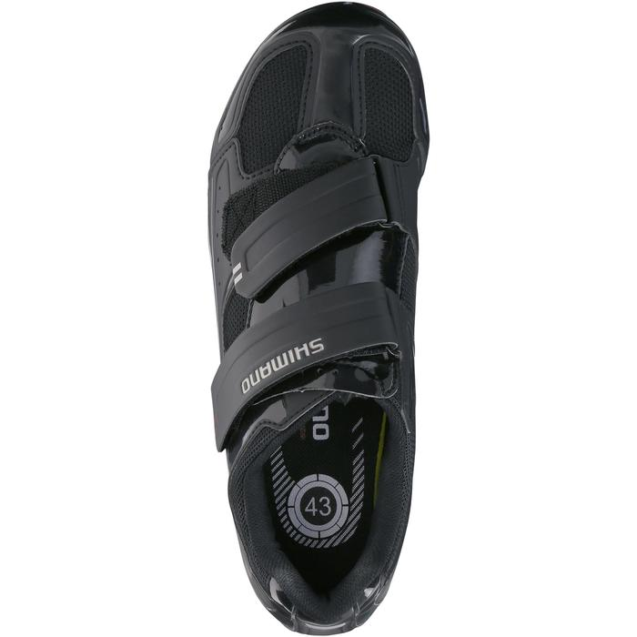 Chaussures vélo route SHIMANO RO65 noir - 185703