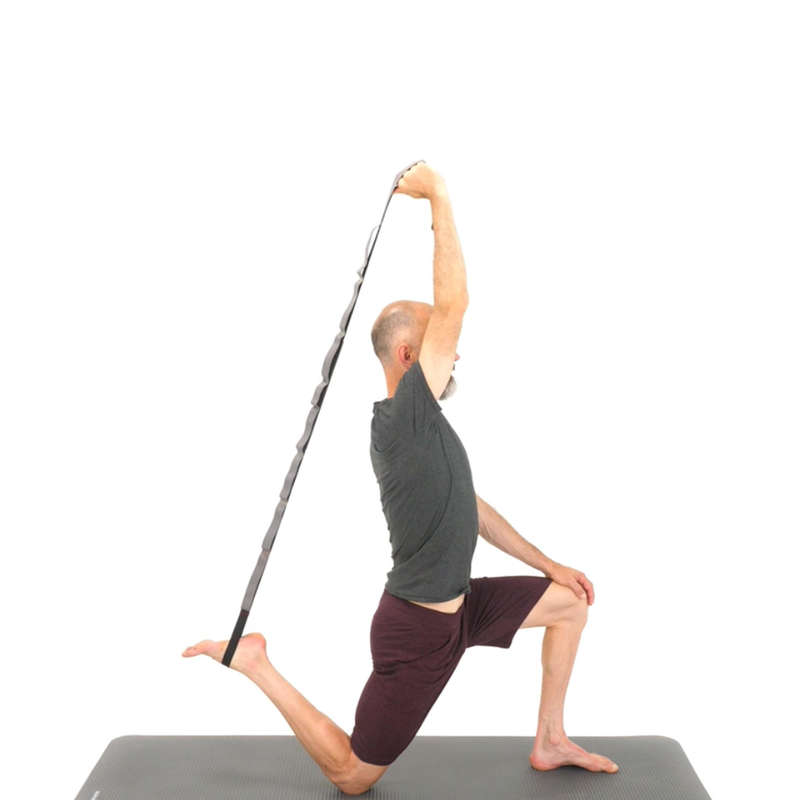 VYBAVENÍ NA PROTAHOVÁNÍ Jóga - POPRUH NA PROTAŽENÍ SVALŮ NYAMBA - Vybavení na jógu