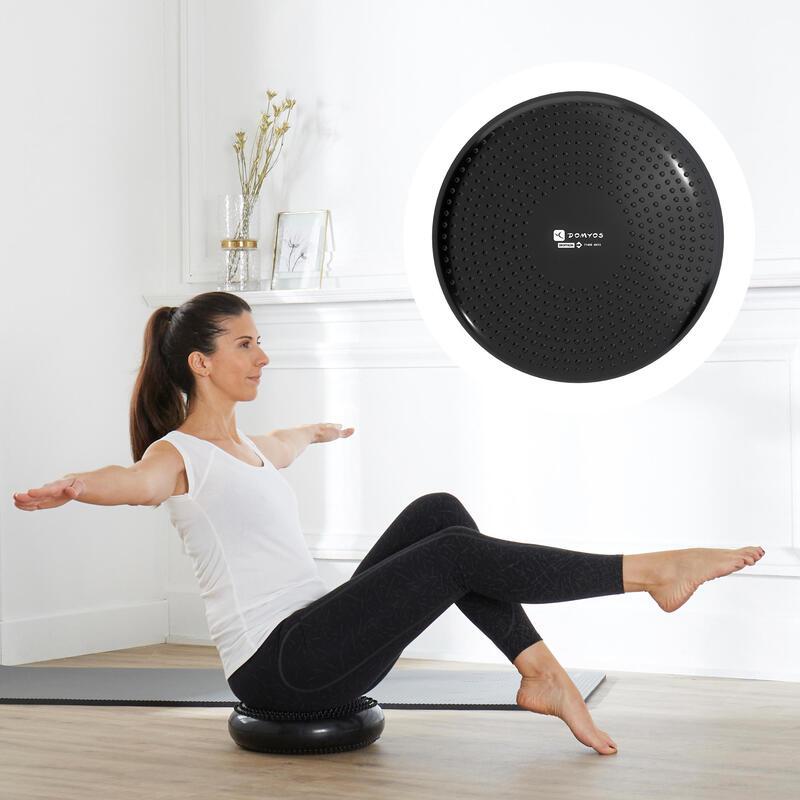 Reversible and Adjustable Soft Disc Balance Cushion