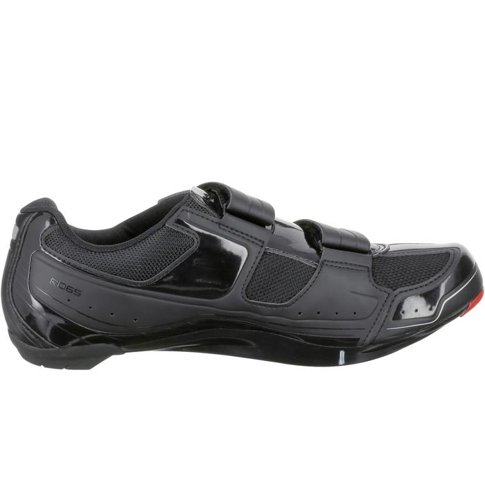 Chaussures vélo route SHIMANO RO65 noir - 185707
