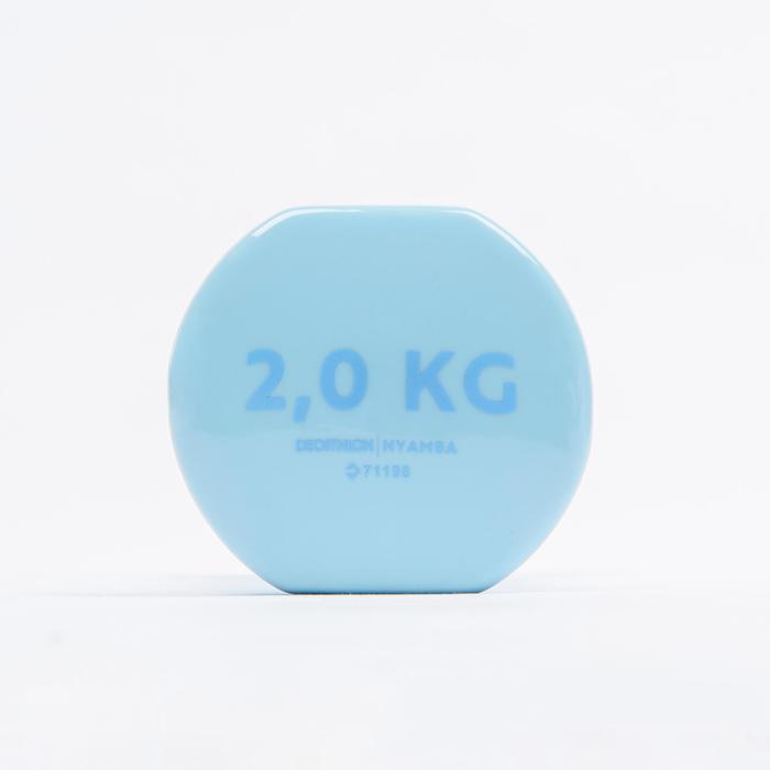 2 kg鍛鍊啞鈴兩入