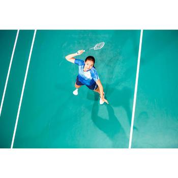 Badmintonshort voor dames 560 blauw/marineblauw