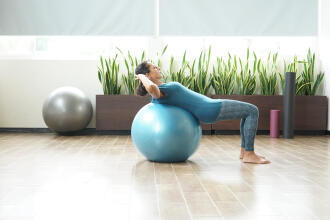How To: Use Your Gym Ball Safely