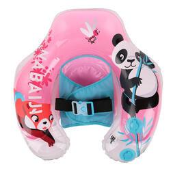 Baby Inflatable Pool Float with Built-in Harness 6 to 24 months - Pink