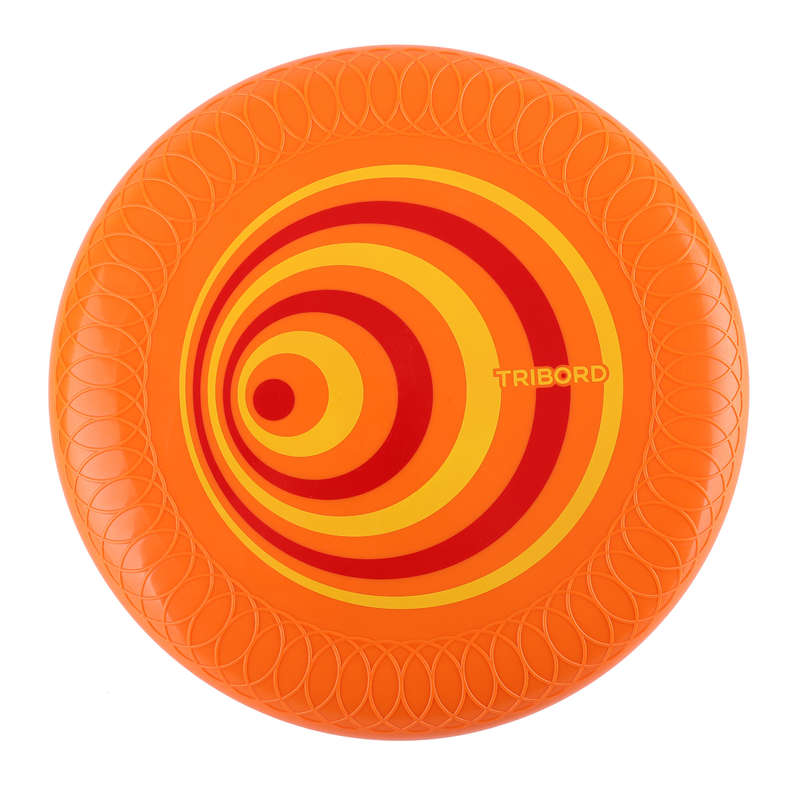 FLYING DISCS / BOOMERANG Frisbees and Boomerangs - D125 Frisbee - Orange OLAIAN - Sports