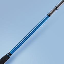Hengel voor kunstaasvissen aan de waterkant op zee Ilicium-500 300