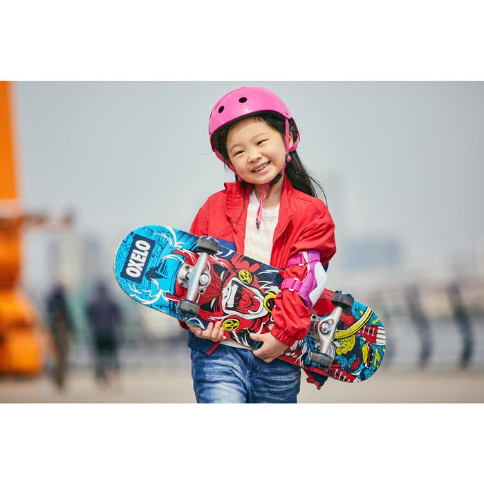 Skateboard voor kinderen van 5 tot 7 jaar Mid 100 Gamer