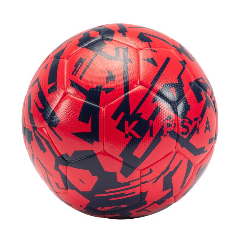 ballon de football F500 light taille 5 rose fraise