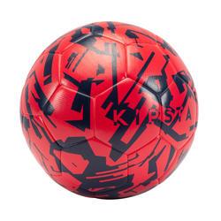 Bola de Futebol F500 Leve Tamanho 5 Cor de Rosa Morango