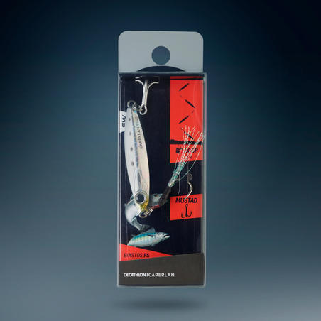 Lure fishing at sea Casting just BIASTOS FAST ASSIST 20g - White