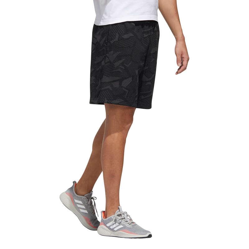 T-SHIRT E SHORT UOMO Ginnastica, Pilates - Pantaloncini uomo fitness neri ADIDAS - Abbigliamento uomo