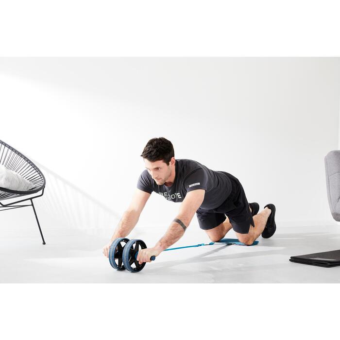 Roue abdominale évolutive avec tapis / Ab wheel evolutive