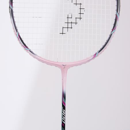 BADMINTON ADULT RACKET BR 900 ULTRA LITE S LIGHT PINK