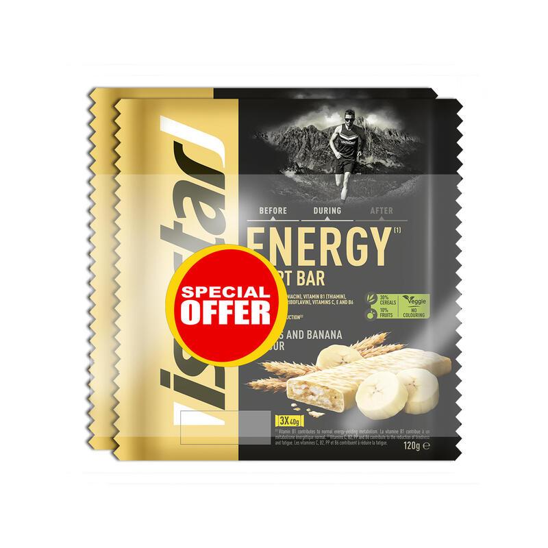 Barrita energética ENERGY SPORT BAR plátano 6 x 40 g Oferta Especial