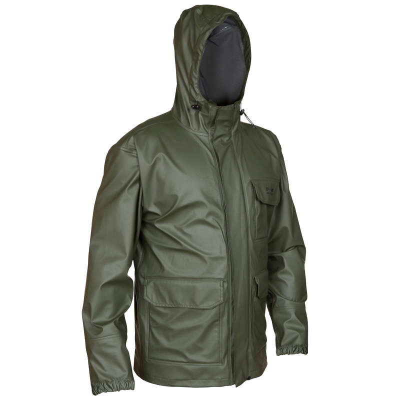 WATERPROOF CLOTHING Shooting and Hunting - GLENARM 300 Hunting Jacket Green  SOLOGNAC - Hunting and Shooting Clothing